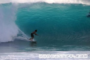 Solid Lefts at La Perouse Bay, Maui, HI