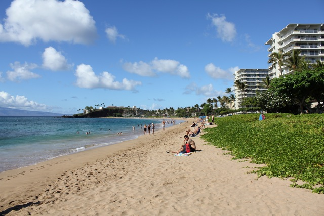 Day at Ka'anapali Beach