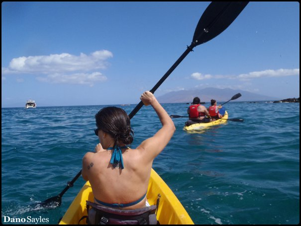 Kayaking Maui