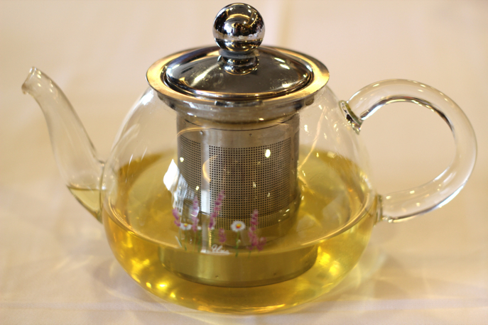 Chinese glass tea kettle