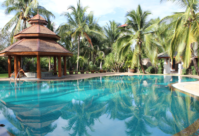 Lovely pool at family home, Mae Jo area, Chiang Mai, Thailand