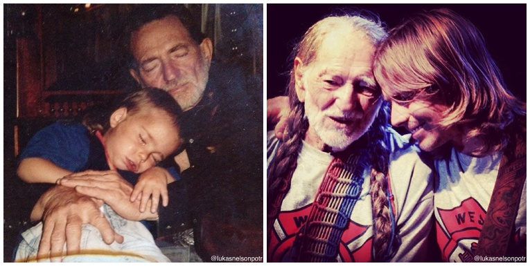 willie nelson family